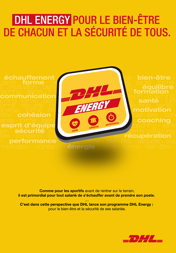 Affiche DHL Energy